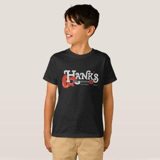 Hanks Gitarren-T-Stück (Kinder) im Schwarzen T-Shirt