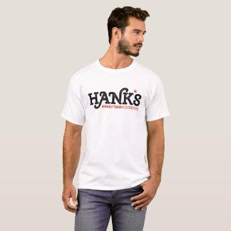 Hanks Honky Tonk (Männer) Weiß T-Shirt