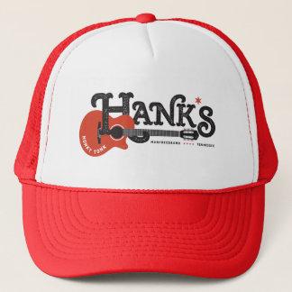 Hanks Honky Tonk Rot-Fernlastfahrer Truckerkappe