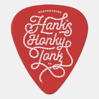 Hanks Honky Tonk Rot-Plektrum Plektrum