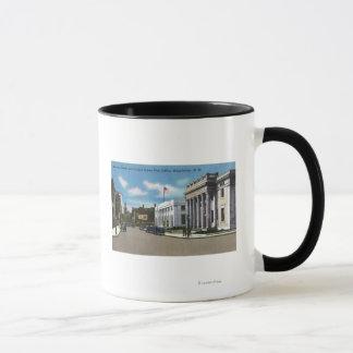 Hannover-Straßen-Ansicht der Post Tasse