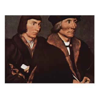 Hans Holbein - Thomas Godsalve von Norwich und Postkarte