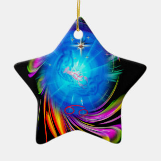 Happy Birthday Cancer Keramik Ornament
