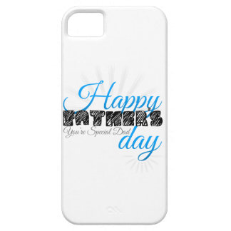 Happy Fathers Day Barely There iPhone 5 Hülle