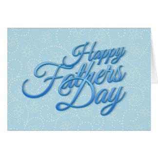 Happy Fathers Day Grußkarte