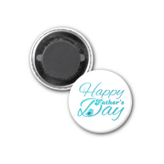 Happy Fathers Day Runder Magnet 2,5 Cm