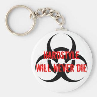HARDSTYLE Will Never Die Schlüsselanhänger