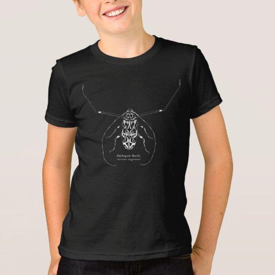 Harlekinkäfer der Kinder und Namen-Shirt T-Shirt
