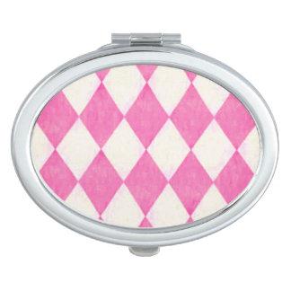 Harlequin_Elegant-Strawberry* Farbe-Multi-Formen Taschenspiegel