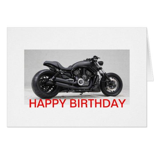 Harley Davidson Geburtstagskarte Karte