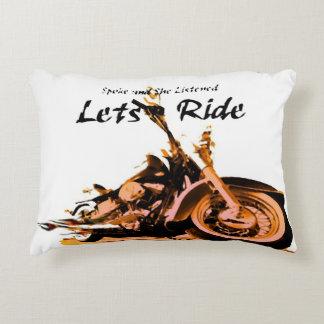 Harley Davidson-Speichen Deko Kissen