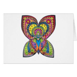 Harmonie-Engel Grußkarte