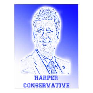 Harper-Konservativer Postkarten
