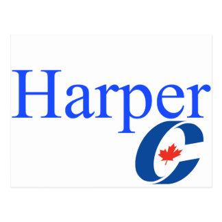 Harper-konservatives Party-Logo Postkarten