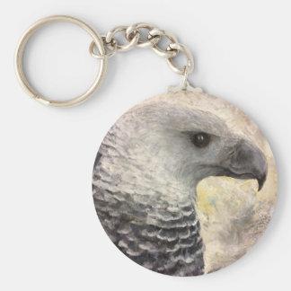 Harpy-Eagle-Studie im Acryl Schlüsselanhänger