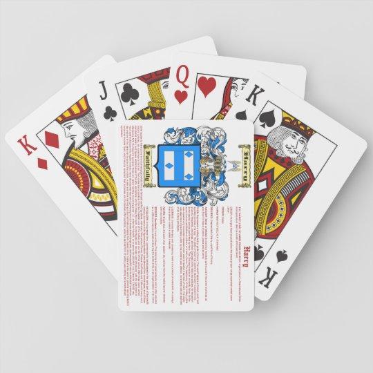 Harry (Bedeutung) Spielkarten