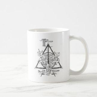 Harry Potter-Bann TOTEN | HEILIGT Grafik Kaffeetasse