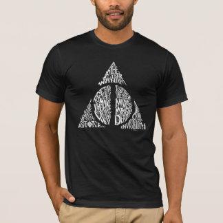 Harry Potter-Bann TOTEN | HEILIGT Typografie GR T-Shirt
