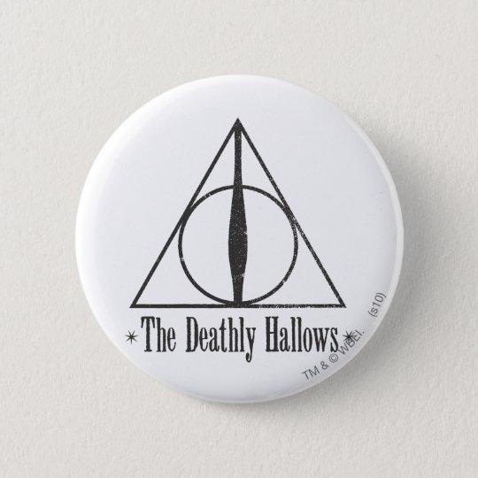 Harry Potter | das toten heiligt Emblem Runder Button 5,7 Cm