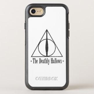 Harry Potter   le de mort sanctifie l'emblème Coque OtterBox Symmetry iPhone 8/7