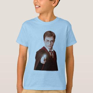 Harry Potter-Punkt-Stab T-Shirt