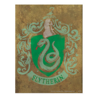 Harry Potter   Slytherin vintage Carte Postale