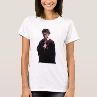 Harry Potter-Stab angehoben T-Shirt