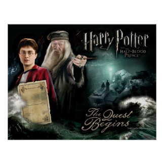 Harry Potter und Dumbledore Poster