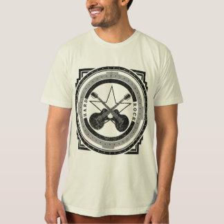Harter Felsen-Vintage Gitarre T-Shirt