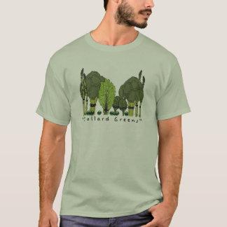 Harter Kern-Kohl-Grüntöne T-Shirt