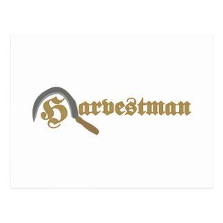 Harvestman Postkarte