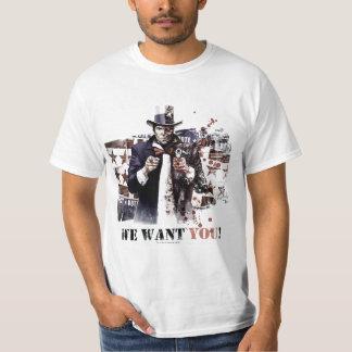 Harvey Einbuchtung - wir wollen Sie! T-Shirt