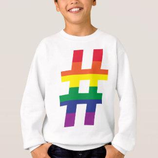 Hasch-Umbau-Gay Pride Sweatshirt