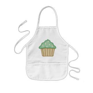 Häschen-Gesichts-kleiner Kuchen Kinderschürze