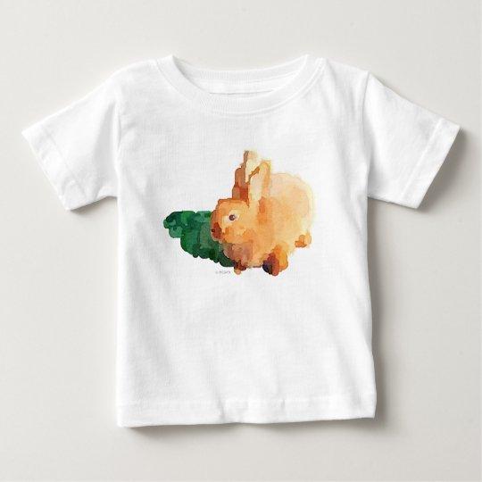 Häschen-Kaninchen-Baby-T - Shirt (weiß)