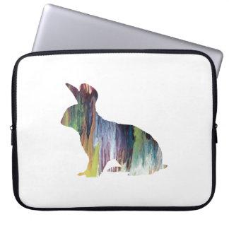 Häschen-Kunst Laptopschutzhülle