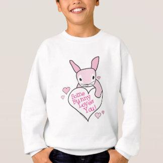 Häschen-Liebe Sweatshirt