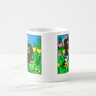 Häschen mit Schmetterling Kaffeetasse