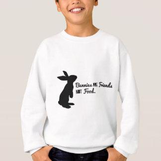 Häschen sind Freunde, nicht Nahrung! Sweatshirt