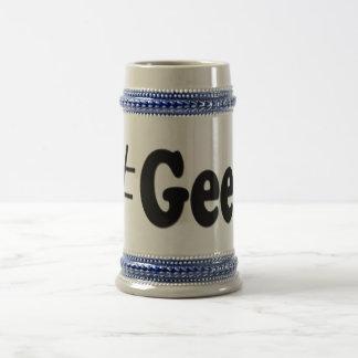 Hashtag Aussenseiter-Kunst-Geschenke Bierglas