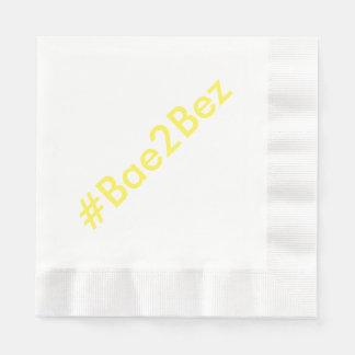 Hashtag Hochzeits-Verlobungs-Party-Tafelservietten Papierserviette