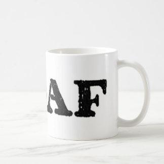 hashtag Oafmilitärsoldatbetreiber Kaffeetasse