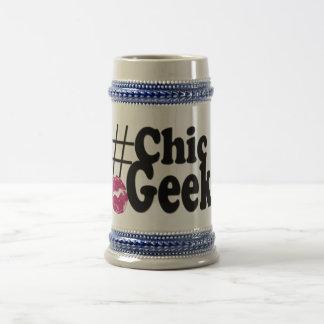 Hashtag schicke Aussenseiter-Kuss-Kunst-Geschenke Bierglas