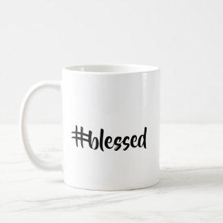 Hashtag segnete oder betonte Kaffeetasse oder