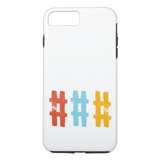 hashtag Telefonkasten iPhone 7 Plus Hülle