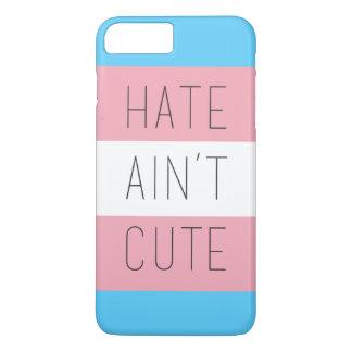 Hass ist nicht niedlicher Telefon-Kasten iPhone 7 Plus Hülle