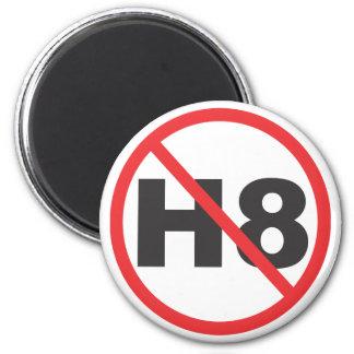 Hassen Sie nicht Runder Magnet 5,7 Cm