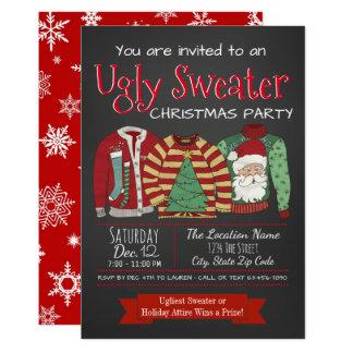 Hässliche Strickjacke-WeihnachtsParty Einladungen