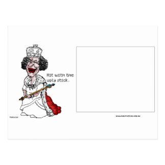 hässliches stick.bmp postkarte