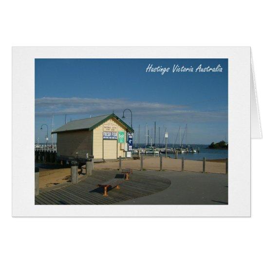 Hastings Foto Mitteilungskarte